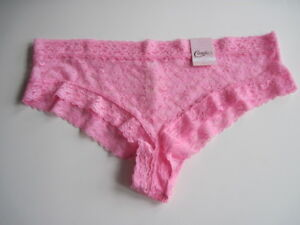 NWT Candie/'s Lace Cheeky Hipster Panty 5 colors Sz.S M L XL New