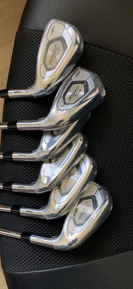 Herre golfsæt, stål, 6 STK JERN Titleist 718 AP3 Jernsæt