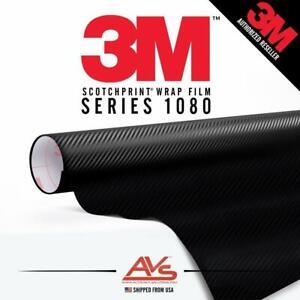 3M-Di-Noc-Carbon-Fiber-Matte-Black-Vinyl-Car-Wrap-Film-Sheet-Roll