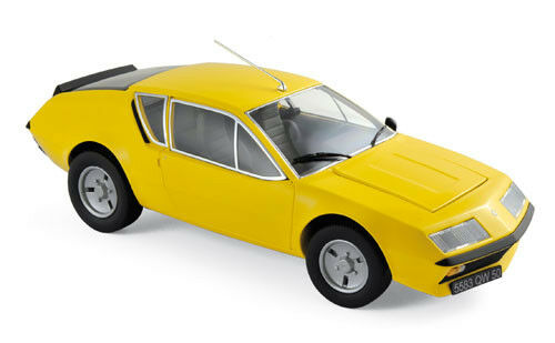 Norev  Renault Alpine A310 1977 1 18 jaune  60% de réduction