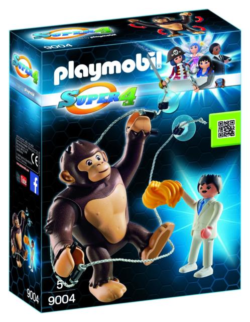 Playmobil Super 4 Giant Ape Gonk 9004