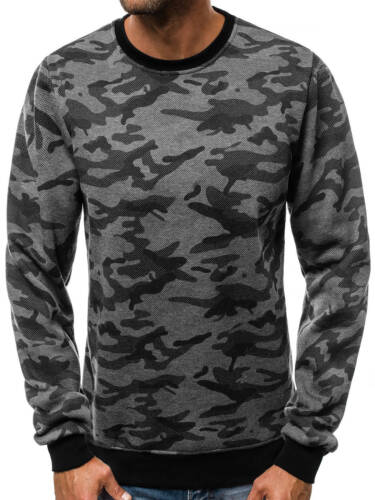 OZONEE Hommes Sweatshirt Pull Sweatjacke Chemise Manches Longues Sweats js//tx21