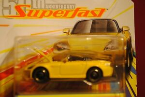 2019 MATCHBOX 50th ANNIVERSARY SUPERFAST '04 HONDA S-2000 Yellow 05