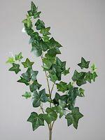 Moderne Kunstblume Efeuzweig Grün Länge 58 Cm