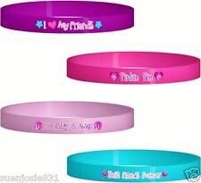 My Little Pony Friendship Rubber Wristbands Bracelets 4pcs Party Favors Supplies