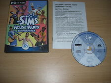 The SIMS 1 HOUSE PARTY Add-On Expansion Pack  Pc Cd Rom SIMS1  FAST POST