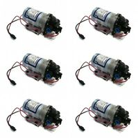 (6)new Shurflo 12v Electric Water Transfer Pumps 1.8 Gpm 60 Psi W/ Demand Switch