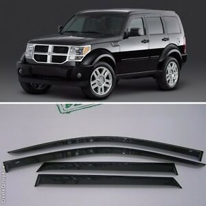 for dodge nitro 2007 2010 window visors side sun rain guard vent. Cars Review. Best American Auto & Cars Review