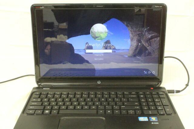 HP Hewlett Packard DV6 Core i5, Windows 10, Password Locked, Parts Only.