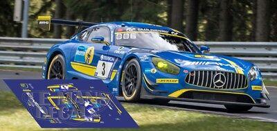 Decals Venturi 500 LM Le Mans 1993 57 70 1:32 1:43 1:24 1:18 slot calcas