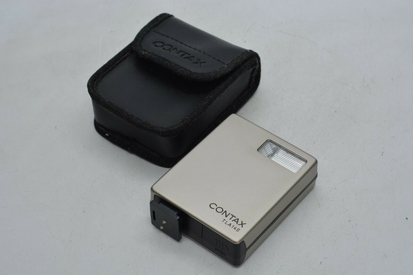[Mint in Case] Contax TLA140 Shoe Mount Flash for G1 G2 From Japan #1272