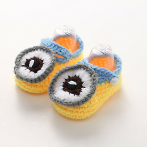 ... -Newborn-Baby-Boys-Girls-Crochet-Knitting-Toddler-Booties-Crib-Shoes