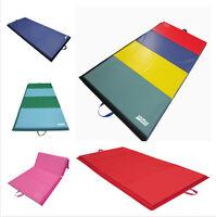 Large Thick Folding Gym Panel Mat Flip Tumbling Yoga Play Gymnastics Foam Mat