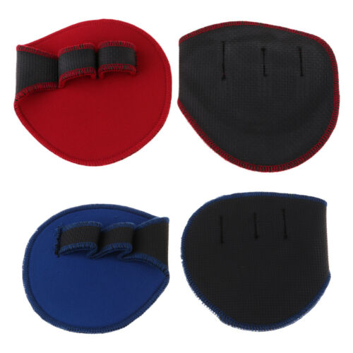 Weightlifting Grip Pads Gloves Gym Grips Paws Durable Soft Anti-slip