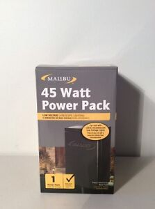 New Malibu Low Voltage 45 Watt Landscape Transformer Timer
