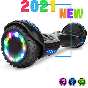 """6.5"""" Hoverboards Self Balancing Electric Scooter Off Road Bluetooth Schwarz"""