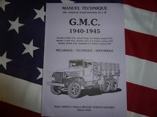 Manuel technique GMC CCKW 353 / 352 DUKW 1940.1945 TRUCK TECHNICAL MANUAL ARBOUX