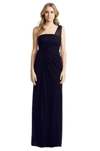 Matthew-Eager-One-Shoulder-Gown-Black-Size-8-RRP-375
