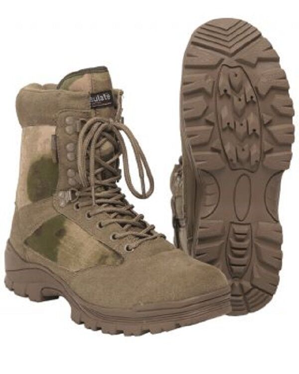 US TACTICAL Lightwight A-TACS FG FG FG Stiefel Army Outdoor Stiefel Gr. 44 24743c