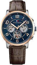 Men's Tommy Hilfiger Sophisticated Sport Brown Strap Watch 1791290