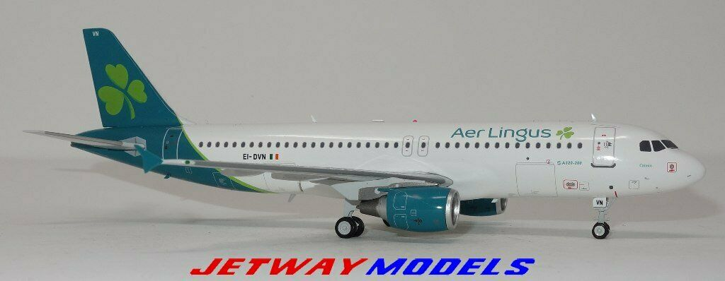 NEW 1 200 INFLIGHT200 AER LINGUS AIRBUS A320-200 MODEL AIRPLANE IF320EI0319