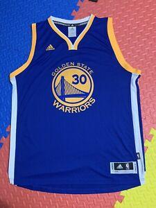 Details about Stephen Curry Adidas Basketball Jersey NBA Golden State Warriors Size XL