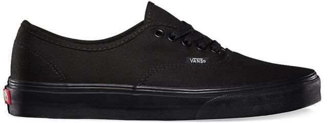 e4ff854001 Vans Authentic Shoes Low Top Women Size Sneakers VN000EE3BKA - Black Black