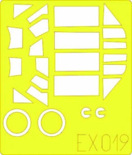 Maskierfolie Neu Eduard Accessories Ex019-1:48 Bf 109E-3