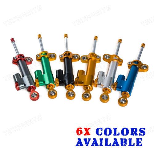 Adjustable Steering Damper For Suzuki SV650 SV1000 GSXR600//750 GSXR1000 GSX1300R