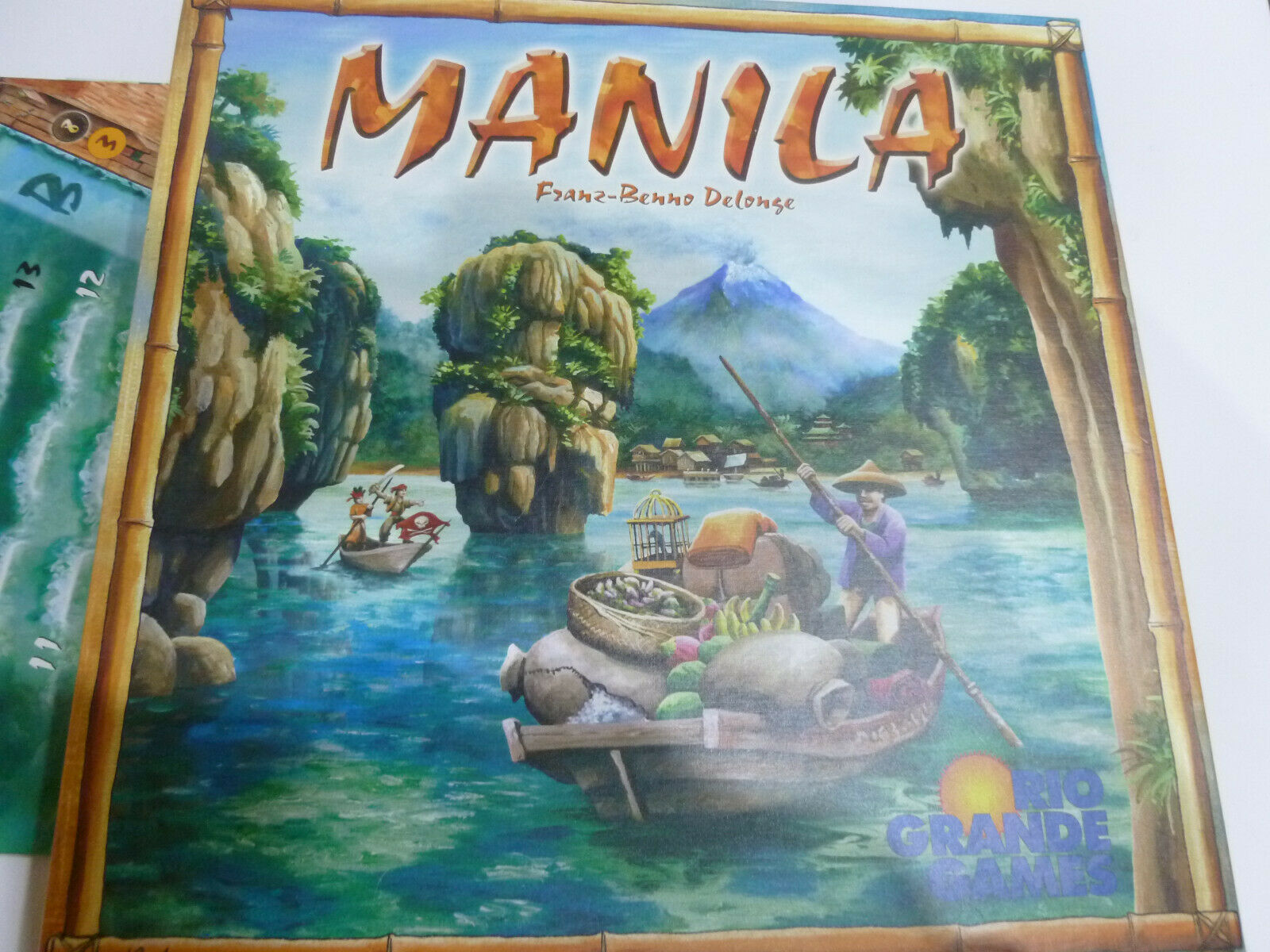 Manila - Rio Grande Games - board game