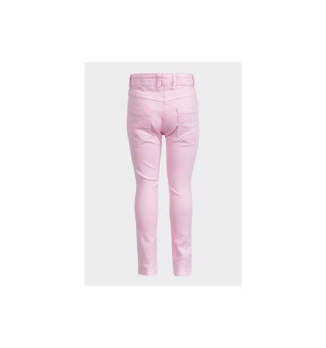 Trousers Denim Skinny Jeans Minoti Girls Kids Pink Yellow Brand New 3-8 years