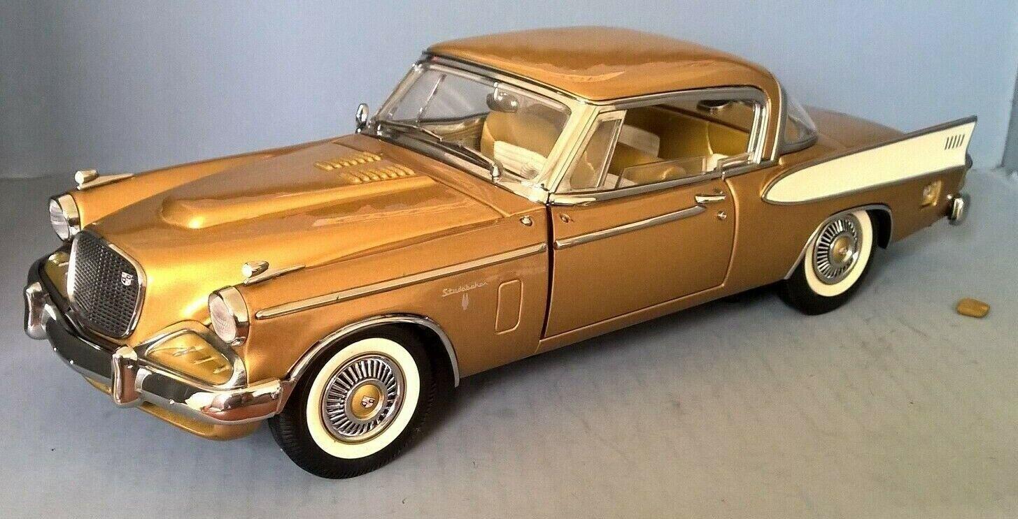 alta calidad general Signature Series 1 18 escala 1958 Studebaker Studebaker Studebaker Halcón Dorado  tiempo libre