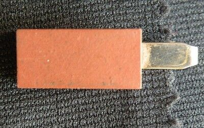Vintage BRICK Brick Layers Tie Tack Clip Bar Union