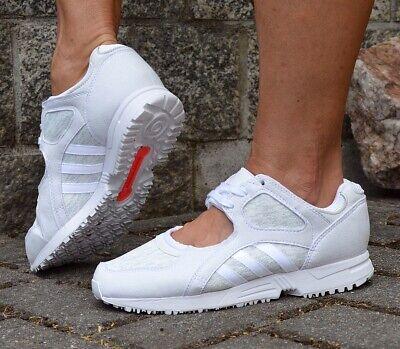 Adidas EQT Racing 91 Womens Trainer Shoe Sandal Ballerina ADV ZX Equipment  White   eBay