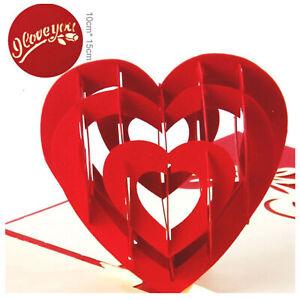 3D-Pop-Up-Greeting-Card-Handmade-Wedding-Valentine-Birthday-Card-Romantic-Love