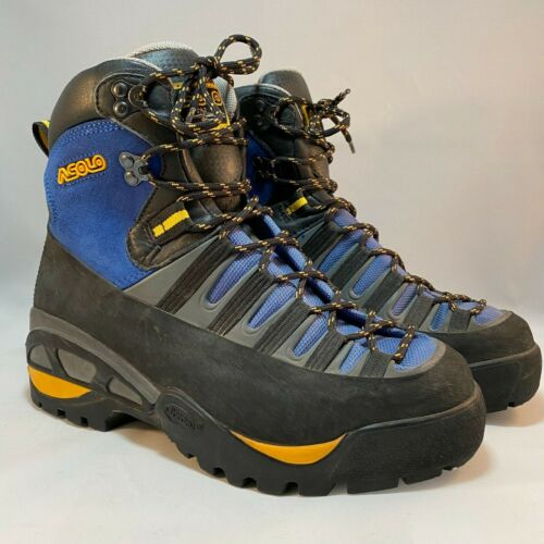 ASOLO Waterproof Leather Hiking Boots Men's Size 8