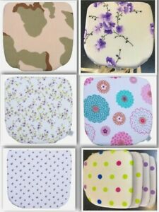 PP-4-X-Fabric-Seat-Pads-Garden-Kitchen-Dining-Chair-Cushions-Tie-On-design