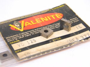 New-Surplus-10pcs-Valenite-SNEA-322-Grade-VC125-Carbide-Inserts