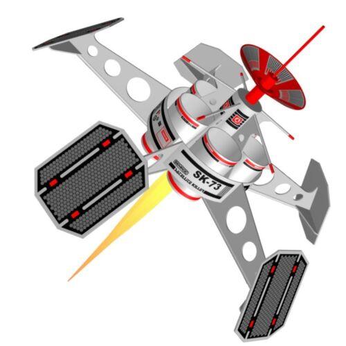 Semroc Flying Model Rocket Kit Satellite Killer  SEM-KV-73