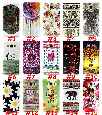 Silicone Rubber Soft TPU Print Paint Back Case Cover Skin For Mobile Cell Phones