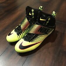 Nike Force Lunarbeast Pro Solar Flare Football Cleats 853586-708 Size 12.5
