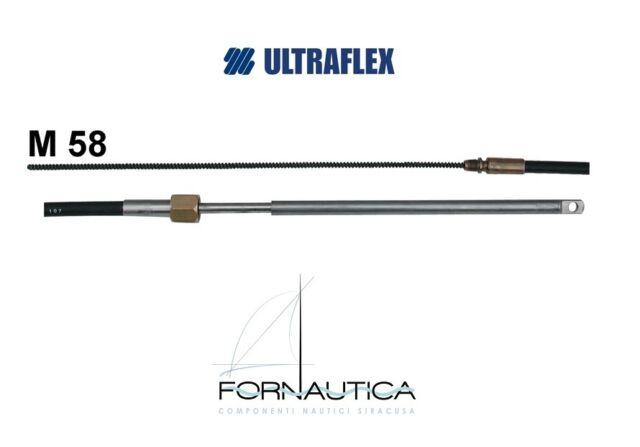 MONOCAVO M58 ULTRAFLEX PER TIMONERIA MECCANICA T67 ULTRAFLEX MOTORE FUORIBORDO