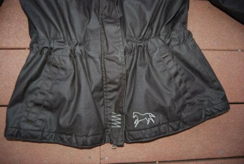 Ridekjole Zip Isoleret Horsewear Vandresistent Mørkebrunt Lille Snap fFwSUF1q