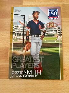 2019-Topps-150-Years-Of-Baseball-Ozzie-Smith-SP-10-5x7-Greatest-Players-GP-14