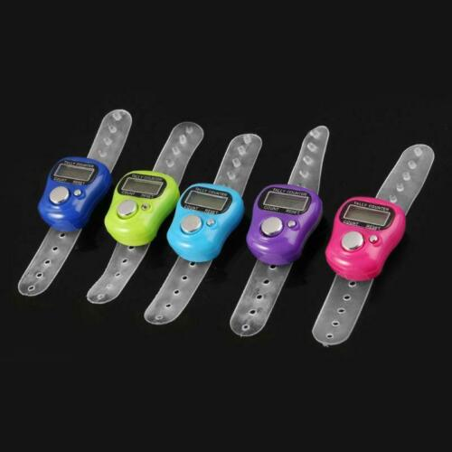 Mini Stitch Marker And Row Finger Counter LCD Electronic Digital Tally Counter