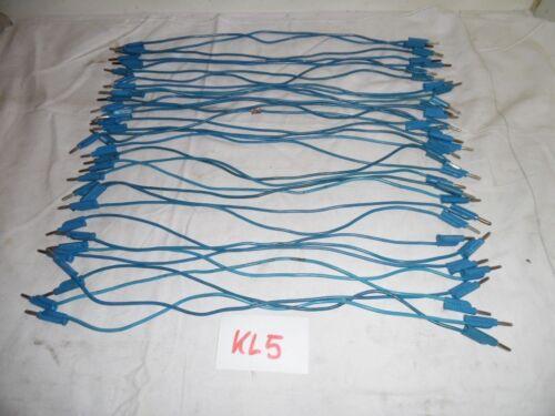 1x Messleitung 2,5mm² 32A 500mm Lamellen Verbindung  ex Bundeswehr KL5