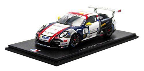 la red entera más baja Porsche 911 991 Gt3 Cup  17 17 17 Winner Pccf 2015 M.Jousse Spark 1 43 SF090  venderse como panqueques