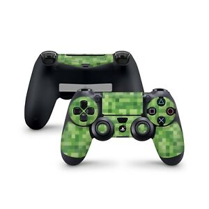 Details About Minecraft Green Skin For Sony Playstation 4 Dualshock Wireless Controller Ps4