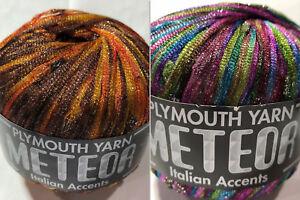 Plymouth-Yarn-Meteor-Italian-Accents-Ribbon-Color-Choice-Loom-Knit-Crochet