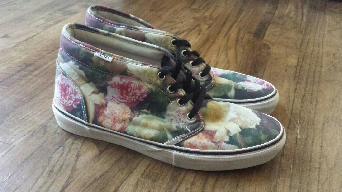 Supreme x Vans Floral Chukka/Shoes